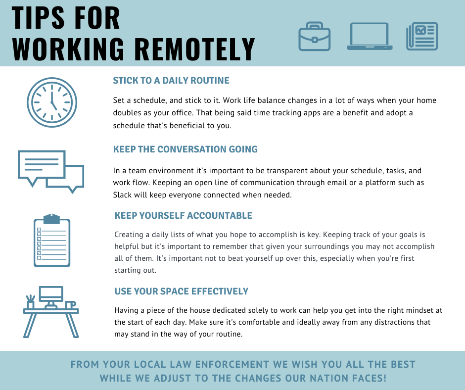 Tips On Working Remotely During The Coronavirus Outbreak